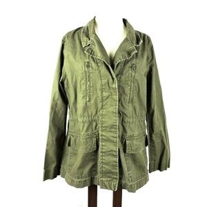 Old Navy Large Field Jacket Olive Military Long